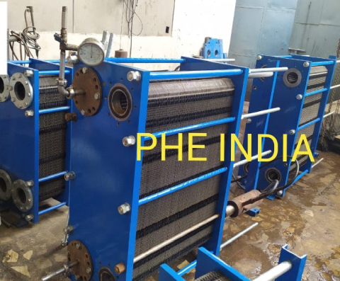 Plate And Frame Heat Exchanger In Barnala