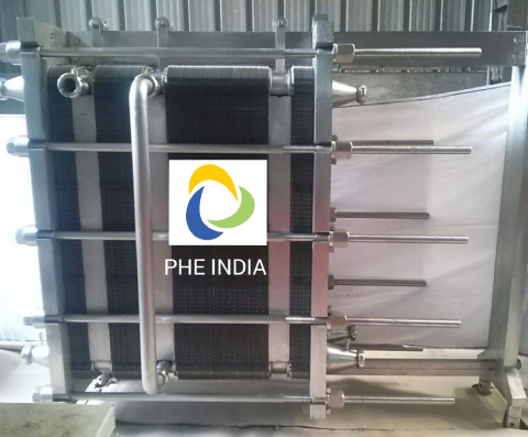 Stainless Steel Plate And Frame Heat Exchanger Suppliers In Barnala
