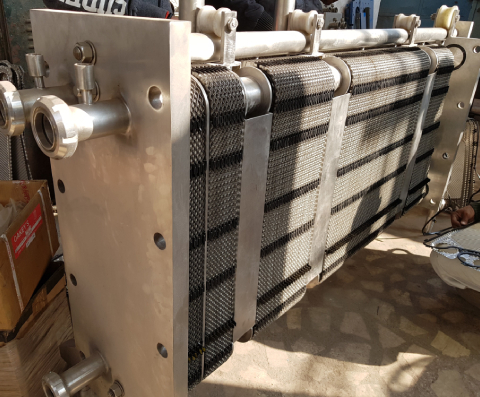 Stainless Steel Plate Fin Heat Exchanger In Solan